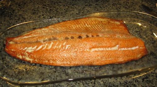 Grilled Sockeye salmon